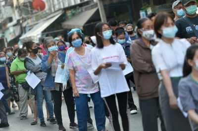 Thailand में 1,891 नए कोविड के मामले, 21 नई मौतें