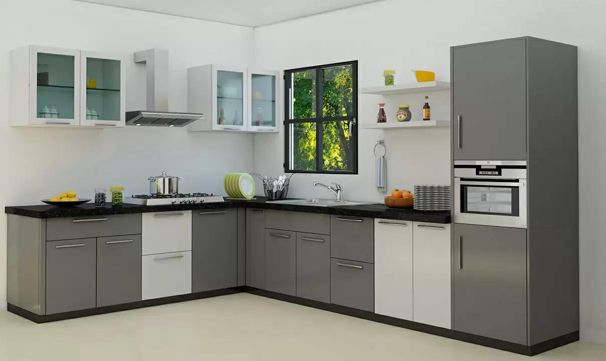 घर में जगह की है कमी तो आप भी बनवाएं L Shaped किचन, होंगे ये फायदे