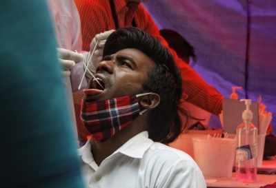भारत में 24 घंटे में 3.68 लाख News Covid मामले, 3,417 मौतें