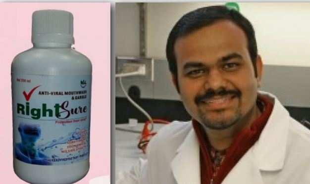 कोरोना के विषाणुओं को मुंह में ही खत्म करेगा Herbal mouth sanitizer