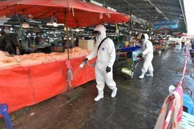 Thailand में 1,583 नए कोविड मामले, 15 और मौतें